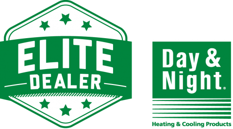 Day & Night Heating and Cooling Products Elite Dealer Logo - Brower Mechanical