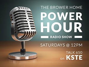 Brower Power Hour Radio Show Archive
