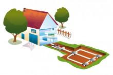 geothermal diagram illustration