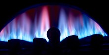 blue flame hot water heater