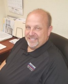 Troy Bagwell service manager at brower mechanical