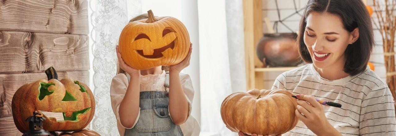 pumpkin carving - fall season