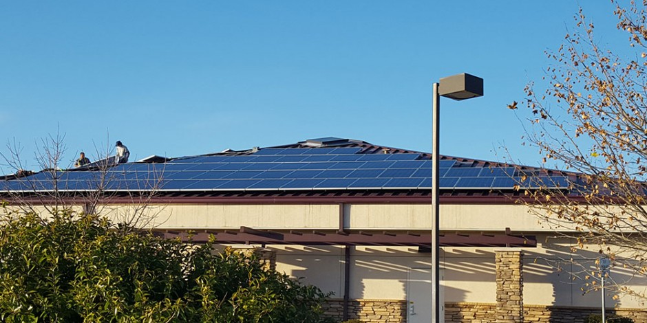 brower mechanical solar install