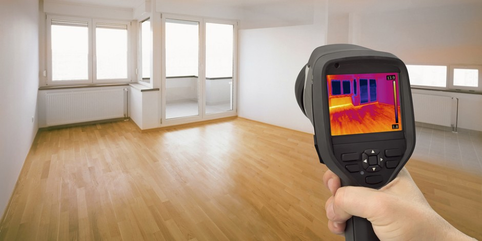 infrared imaging energy audit inside