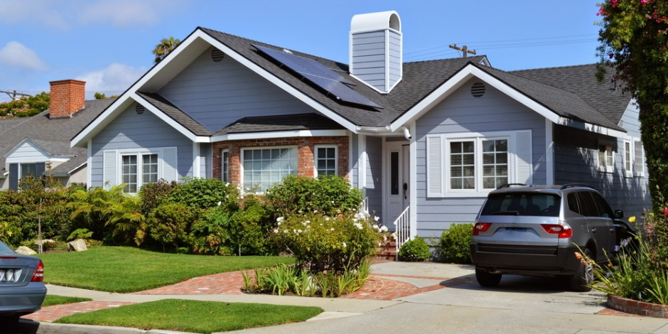 house in california with solar